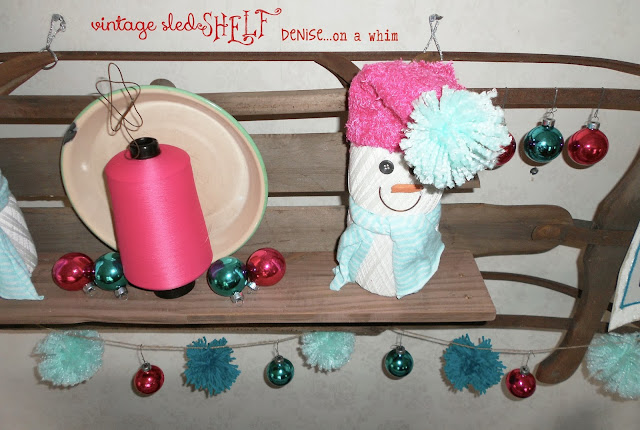 Using a sled to make a shelf via http://deniseonawhim.blogspot.com