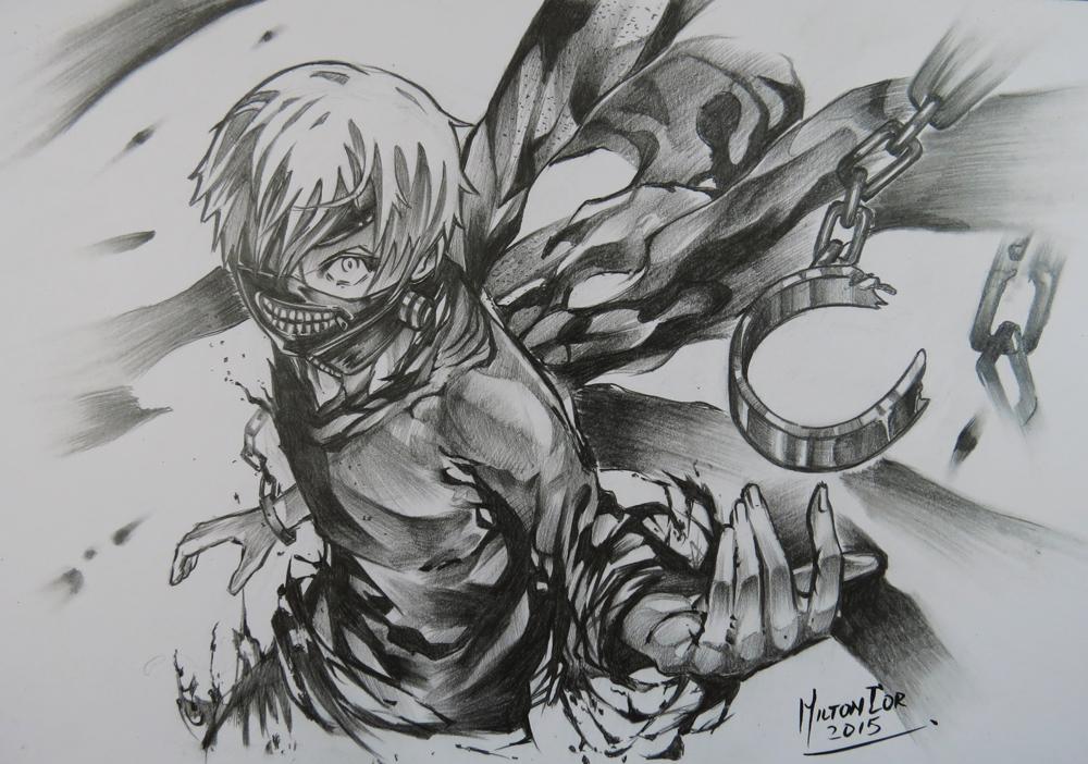 Art Painting Drawing Tips and Tutorials Drawing Ken Kaneki