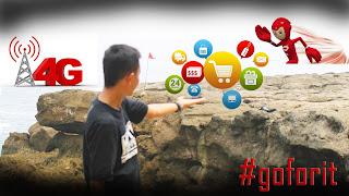 Online Shop Lancar Dengan Internet Cepat 4G LTE #goforit