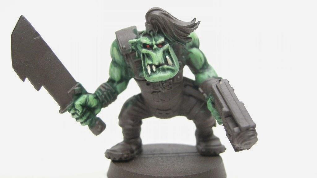 Cómo pintar piel de Orko