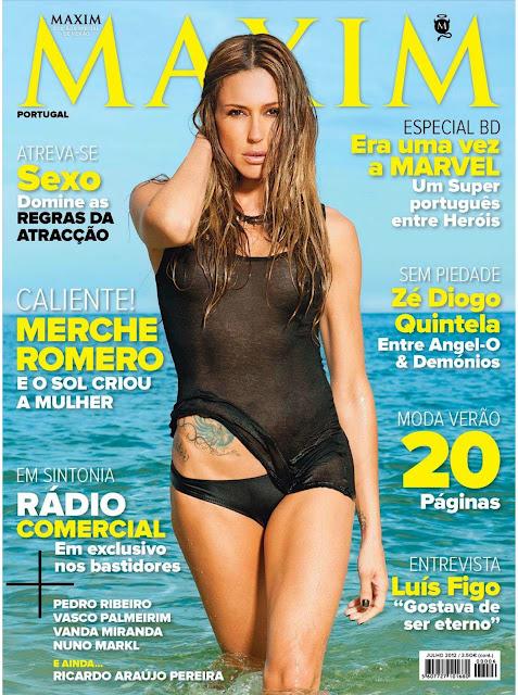 Merche Romero na Maxim Portugal