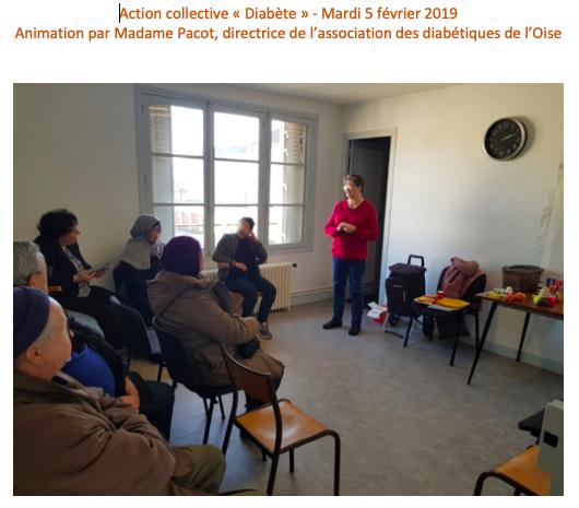 Action collective Diabète - 5 02 2019