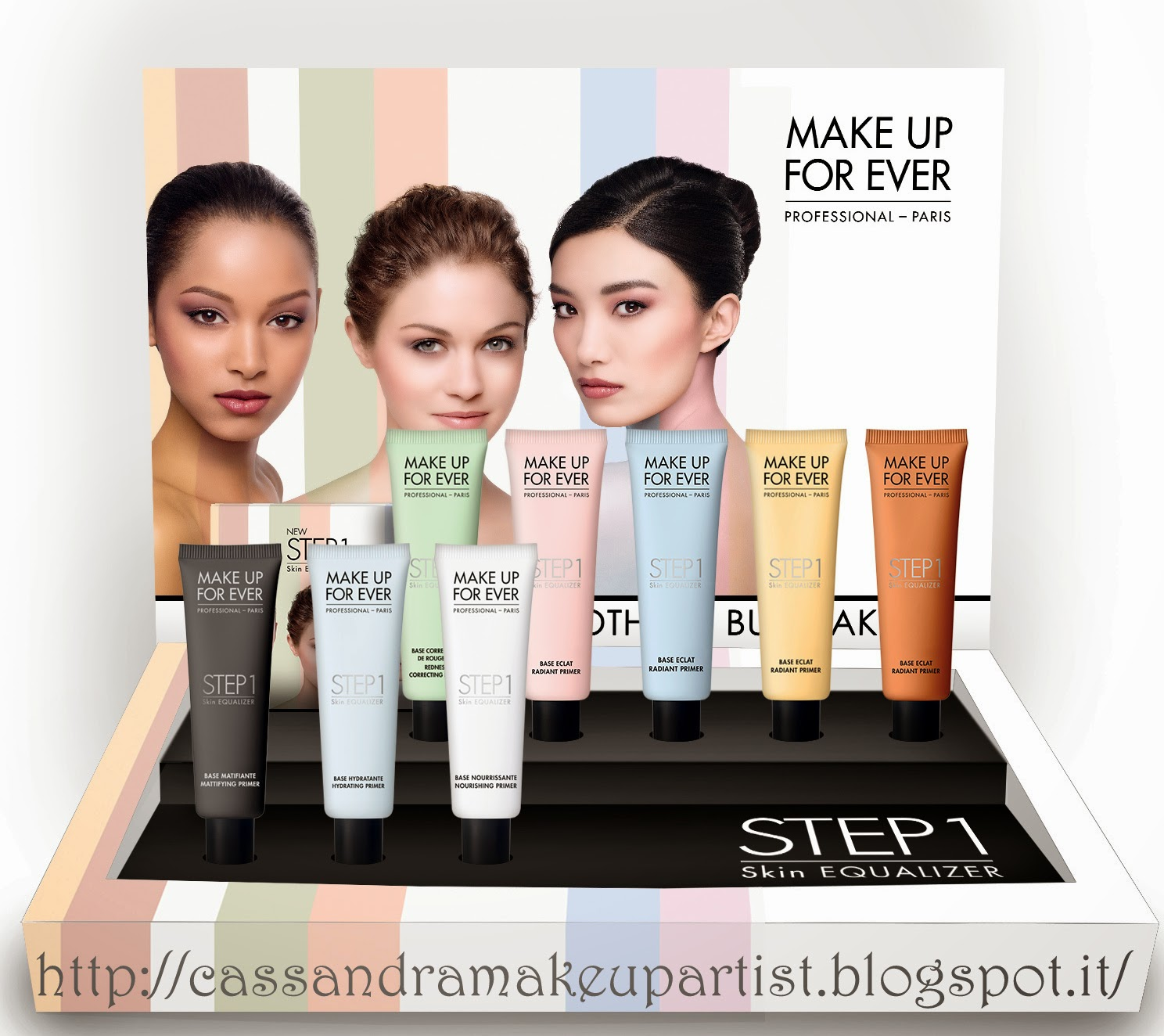 MAKE UP FOR EVER - STEP1 Skin Equalizer - nuove basi - nuovi vew primer - la truccheria - mufe