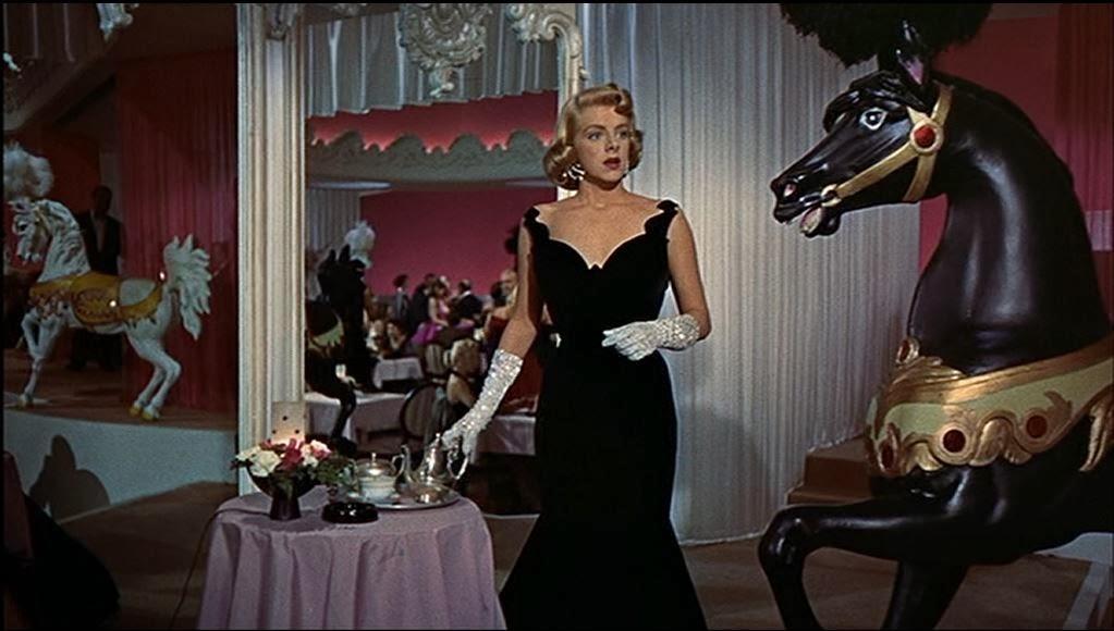 elegant dress on Betty  White Christmas Movie Dresses