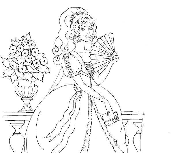 disney swan princess coloring pages - photo#26
