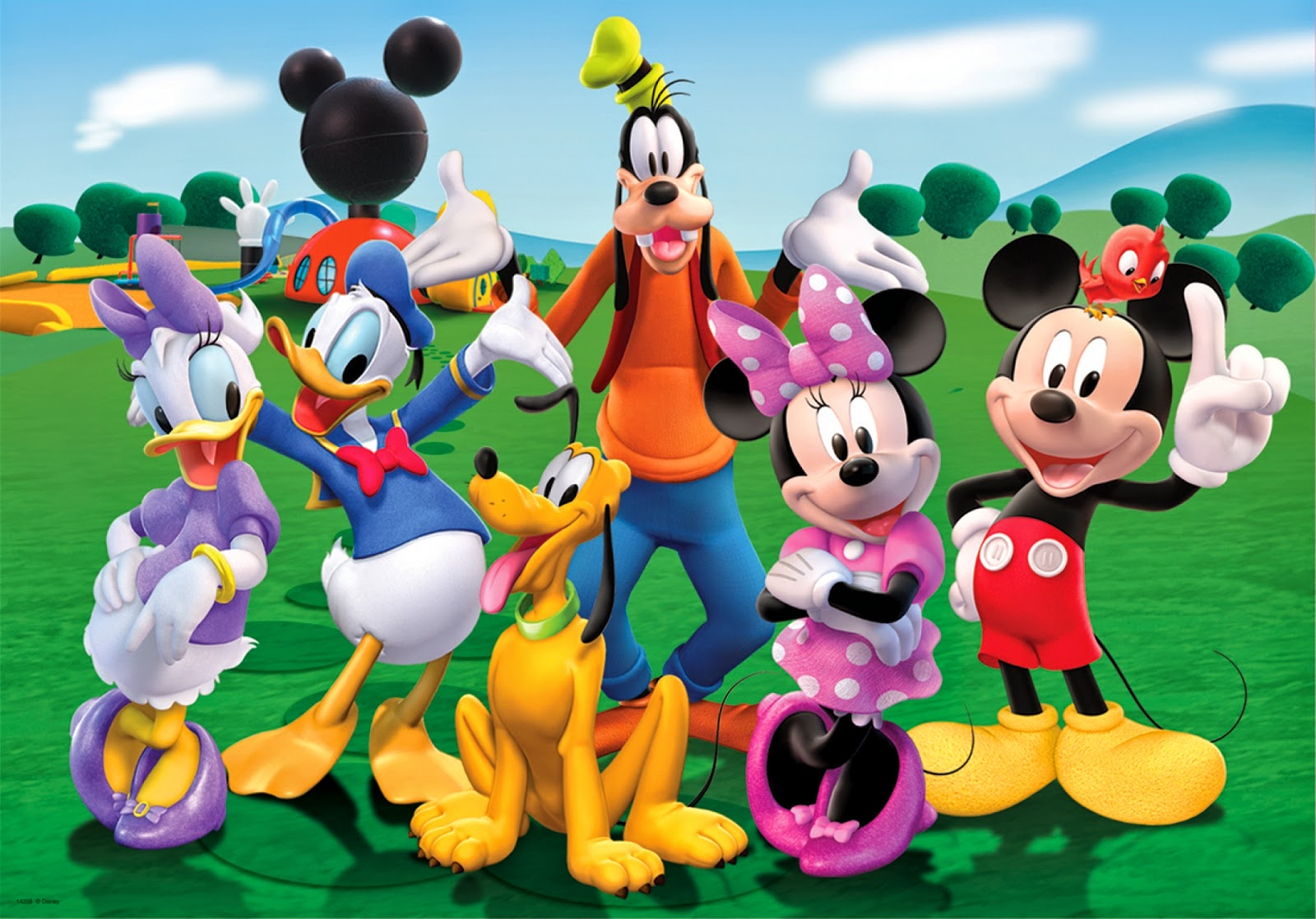 Mickey Mouse Wallpapers, part 1
