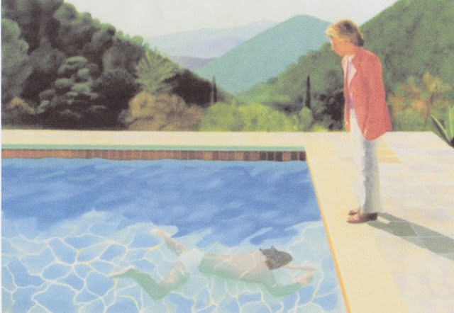 Pamela holderman care for a swim - David hockney swimming pool paintings ...