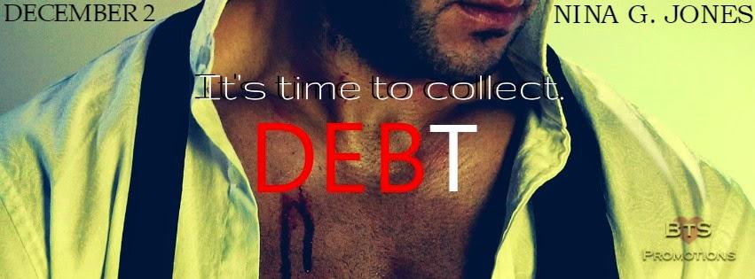 Release Blitz + Giveaway – Debt by Nina G. Jones