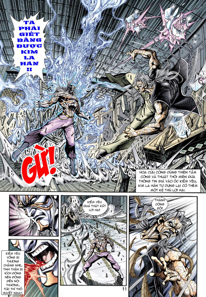 Tân Tác Long Hổ Môn chap 193 - Trang 11