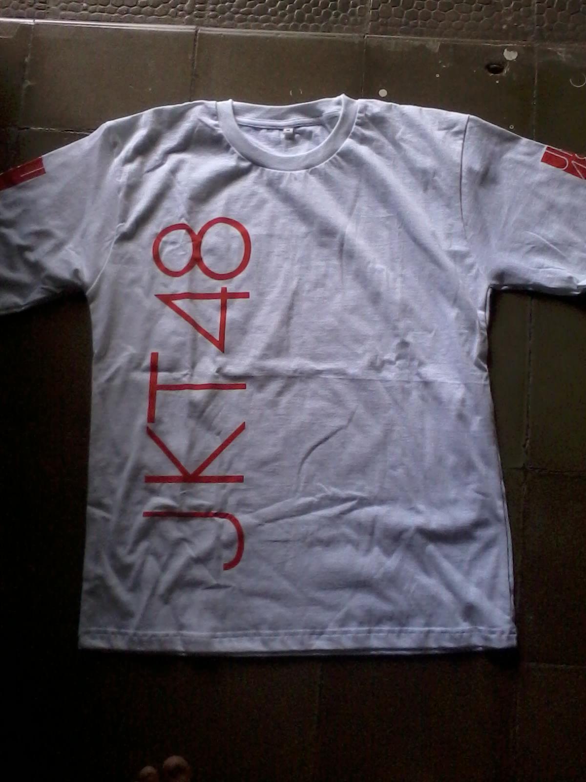 Desain t shirt jkt48 - Done Kaos Jkt48 Tampak Depan Kami Menerima Order Kaos Satuan Karena Kaos Jkt48