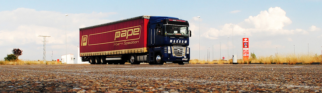 Marcin i jego ciężarówka
