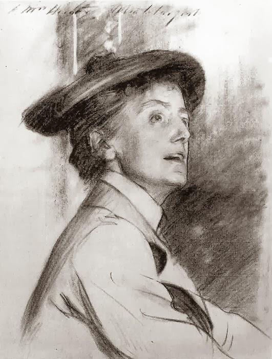 Ethel Smyth by John Singer Sargent