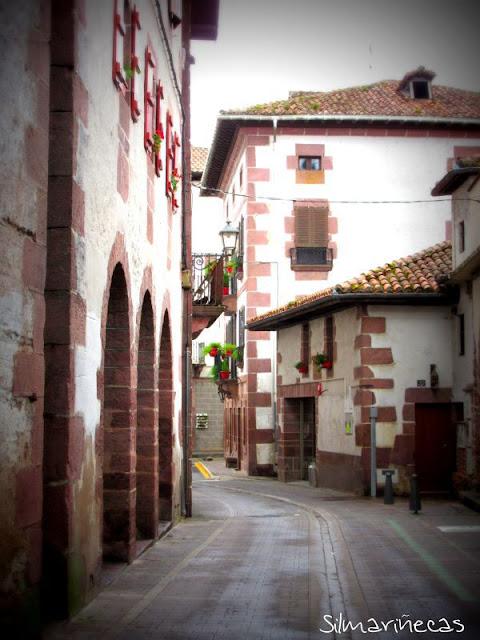 Arcadas de la calle Jaime Urrutia - Elizondo