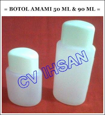 BOTOL AMAMI 50 ML DAN 90 ML