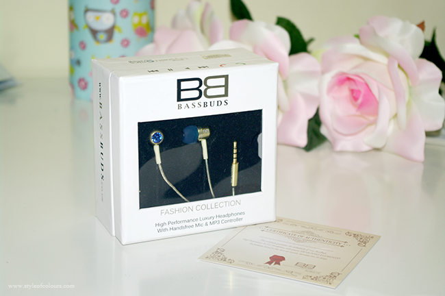 Bassbuds in-ear headphones