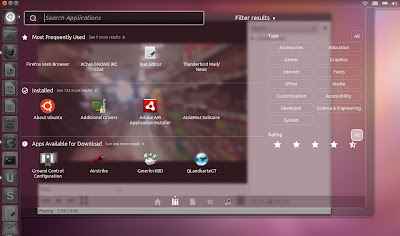 New in ubuntu 11.10