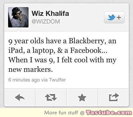 True story from Wiz Khalifa