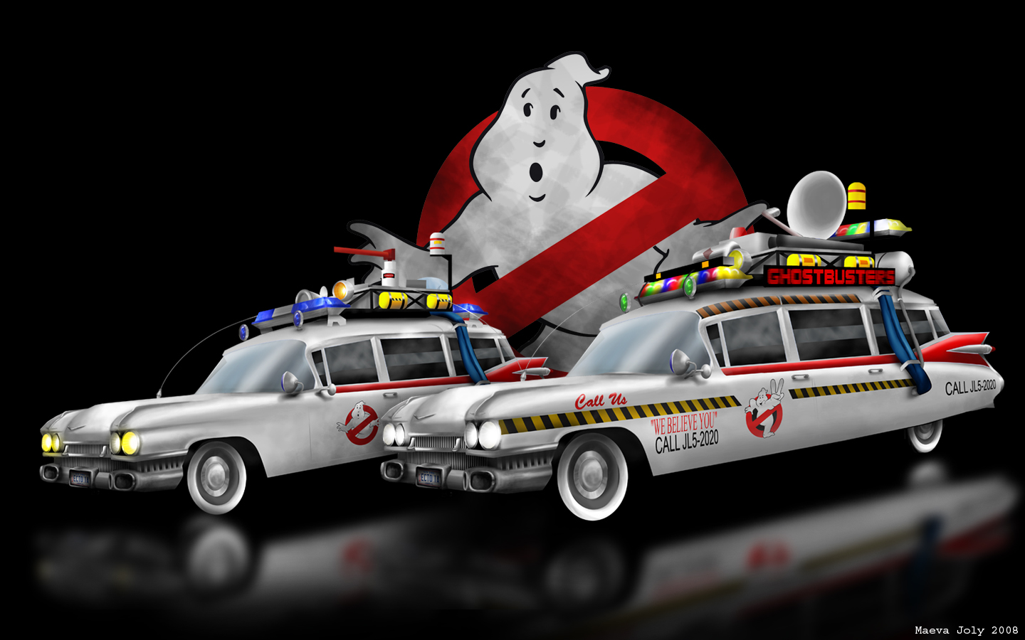 ecto 1 ghostbusters wallpaper - photo #11