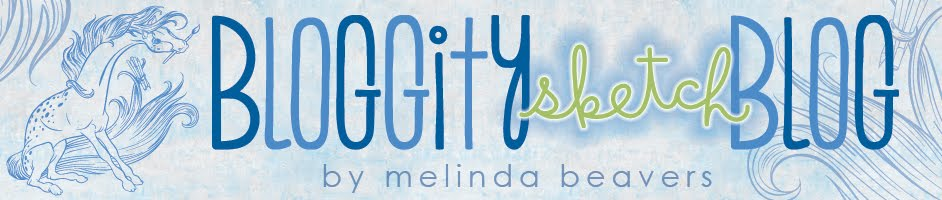 bloggity sketch blog by melinda beavers