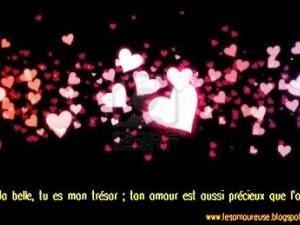 Phrase d'amour magnifique
