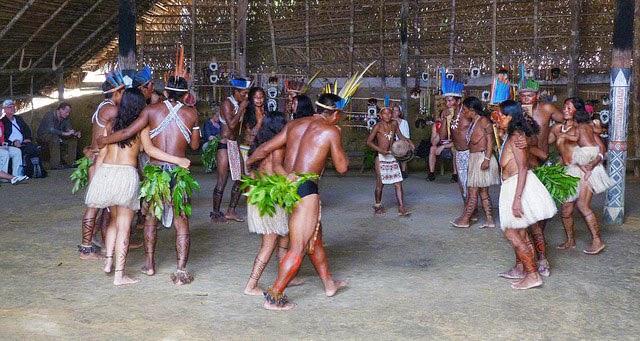 Población indígena en sudamerica (Brasil)