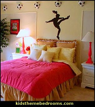 themed bedroom decorating ideas sports bedding sports bedrooms