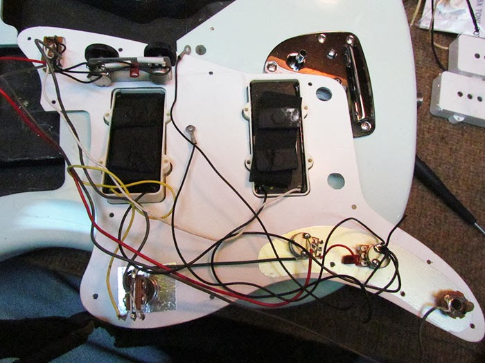Vintage Wiring Harness Uk : Crawls backward when alarmed squier vintage modified