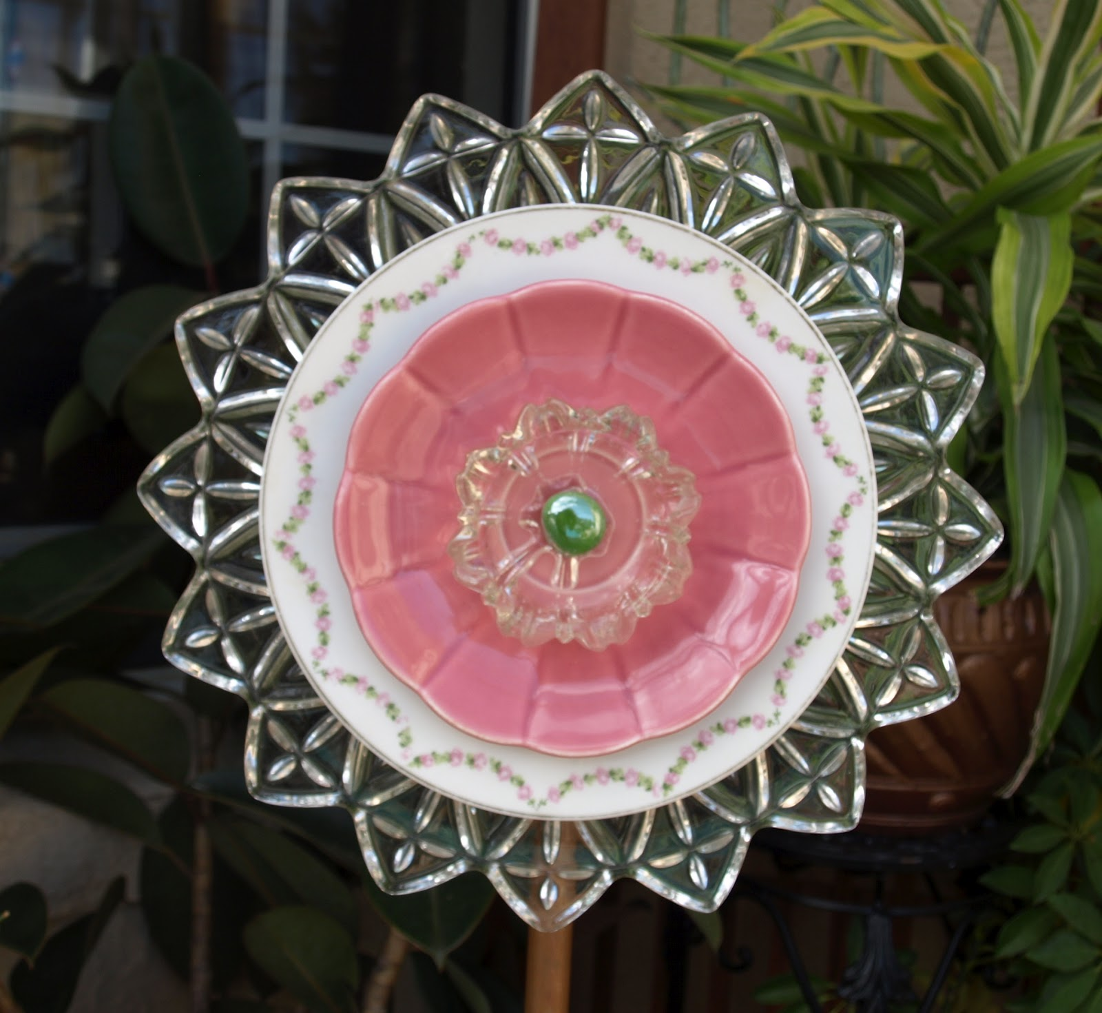 Artful salvage new flower just listed for Flowers made of glass