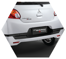 Rear Body Kit Mitsubishi Mirage Jambi