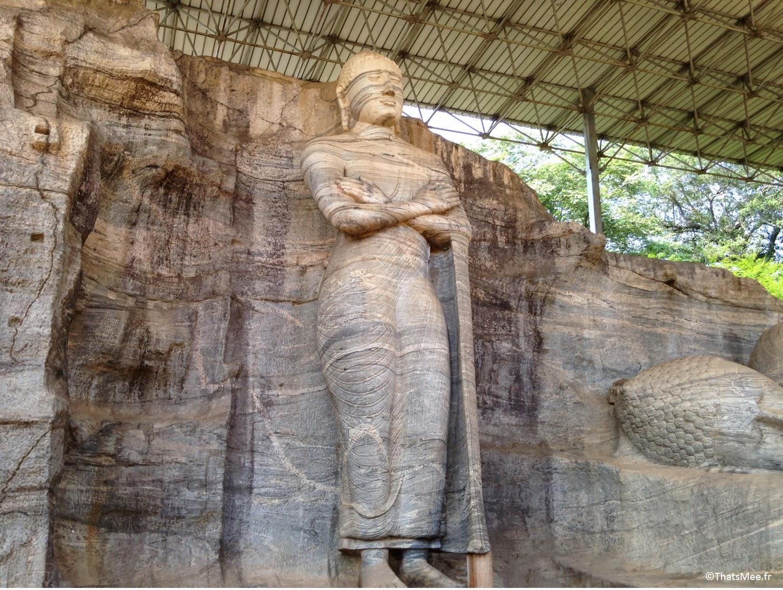 Polonnaruwa Gal Vihariya, Bouddha debout Sri-Lanka