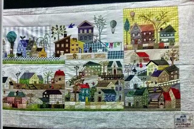 50 variaciones del Mystery Quilt de Yoko Saito
