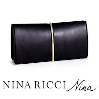 NINA RICCI Arc Clutch MAGRIT Pumps Oueen Letizia Style