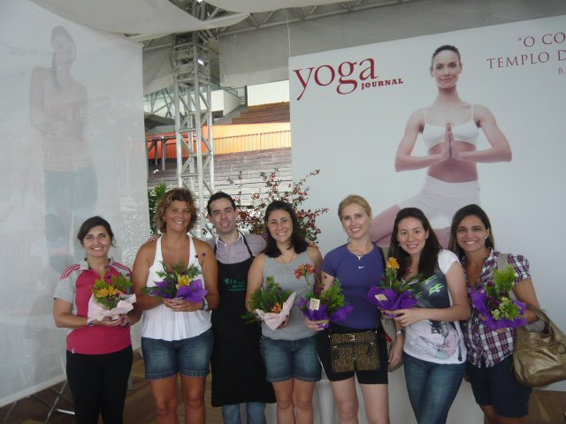 "Workshop de Ikebana , ""Circuito Vênus 2011."""