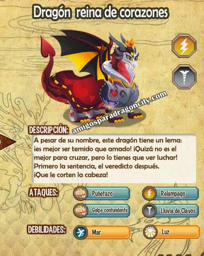 imagen de las caracteristicas del dragon reina de corazones