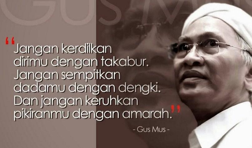 Puisi Gus Mus Berjudul Puisi Islam