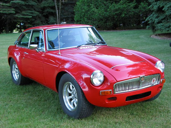 1974 MGB GT V8  We Obsessively Cover the Auto Industry