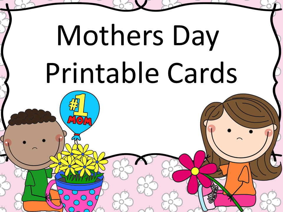 Classroom freebies too mother 39 s day cards for Mothers day cards from preschoolers