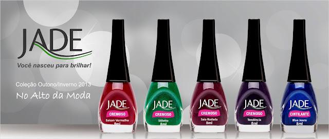 Coleção de Esmaltes Jade No Alto da Moda outono-inverno 2013