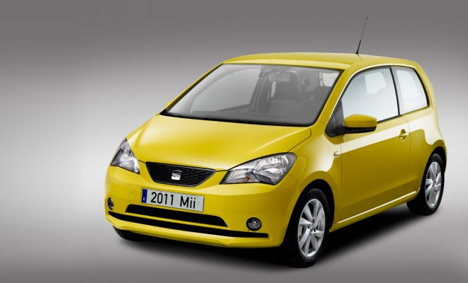 Seat Mii from the front