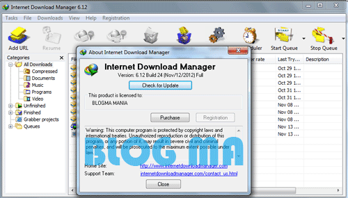 Internet Download Manager 6.12 Build 23 Final + Patch