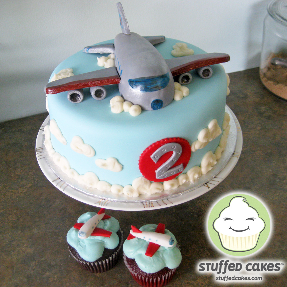 Jet On Clouds B Day Cake Events Entertaining Pinterest