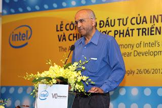 Ông Deepak Natarajan – Giám đốc Đầu tư Khu vự Đông Nam Á – Intel Capital