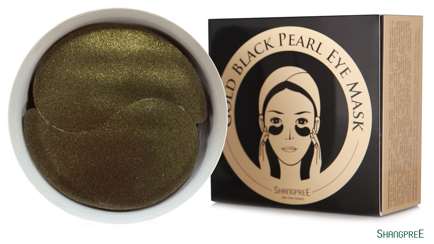 gold black pearl eye mask отзывы