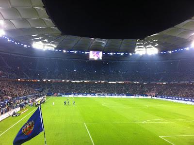 HSV Stadion Innen