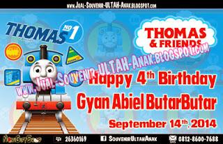 Thanks Card Thomas Train Sample Tema Design Thanks Card (Kartu Ucapan Terima Kasih)