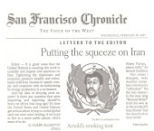 Iran, SF Chronicle