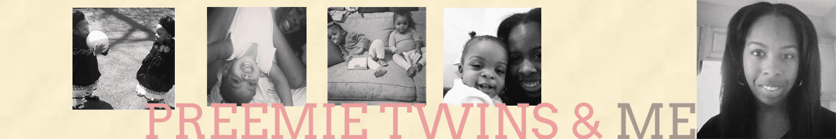 Preemie Twins and Me