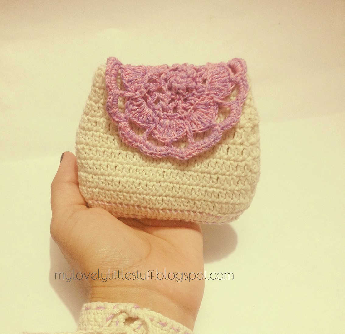Hermosa Patrón Monedero Crochet Inspiración - Manta de Tejer Patrón ...