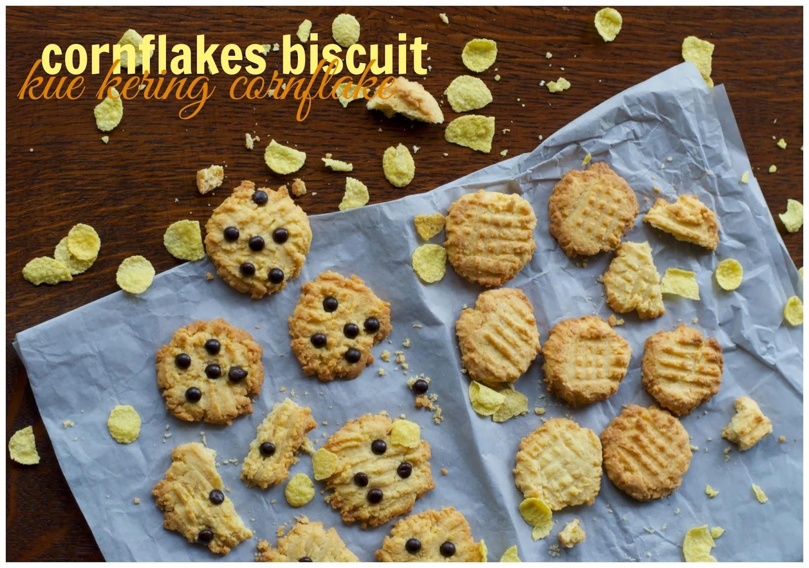 Indonesian Medan Food: Kue Kering Cornflake (Cornflakes Biscuit)