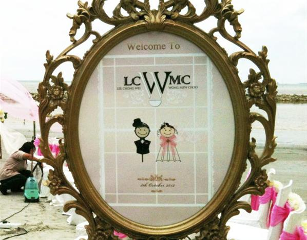 6 Gambar Persiapan Pra Perkahwinan Lee Chong Wei Dan Wong Mew Choo
